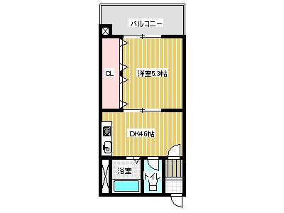 豊川第3ビル間取り画像