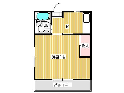 橋本ハイツ間取り画像