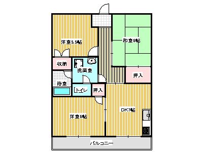 中川ビル間取り画像